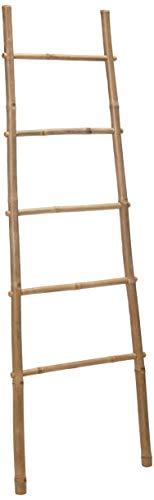 Bamboo Ladder Rack, 60H'