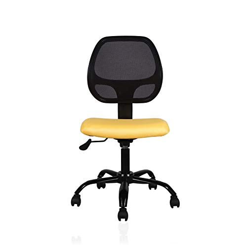 INNOWIN Ola Low Back Office Chair (Yellow)