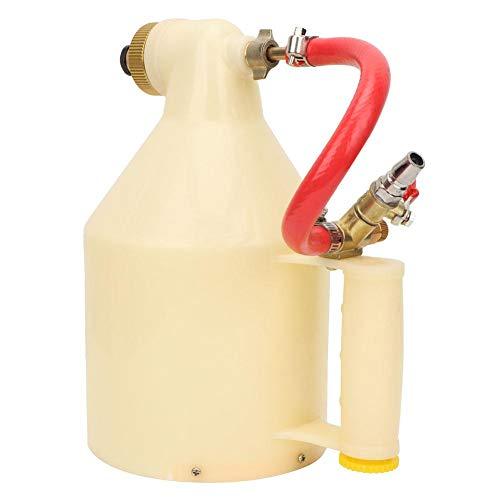 Pistola de pintura pneumática de textura de ar, 1/4 de polegada com bicos Pulverizador de pintura de drywall de textura ajustável, para decoração de paredes de casa em locais de construção
