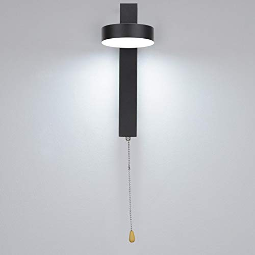 Uxsiya Apliques de pared Iluminación Lámpara de pared regulable para sala de estar con interruptor