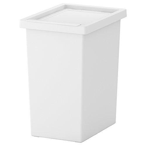★FILUR ふた付き容器 / ホワイト 28L[イケア]IKEA(40188335)