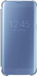 غطاء شفاف لهاتف سامسونج جالكسي S7 EDGE - ازرق