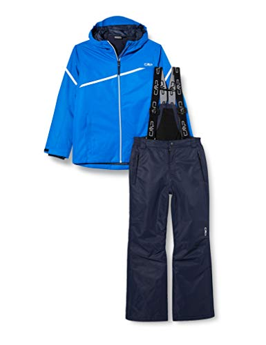 CMP Set da Sci Bicolor (Giacca+Pantaloni), Bambino, Royal, 152, Royal