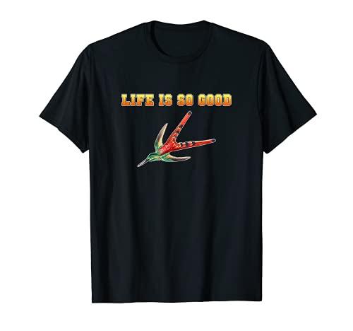 hummingbirds humming-bird life is so good bird watcher item T-Shirt