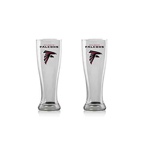 Duck House NFL Atlanta Falcons Bier Glas Pilsner 2er Gläser Set 2 Stück Bierglas Pint