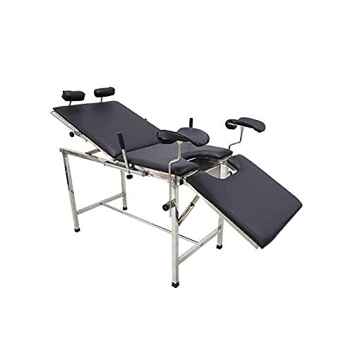 KSDCDF Table de massage portable en aluminium - Table de massage longue et réglable en hauteur -...