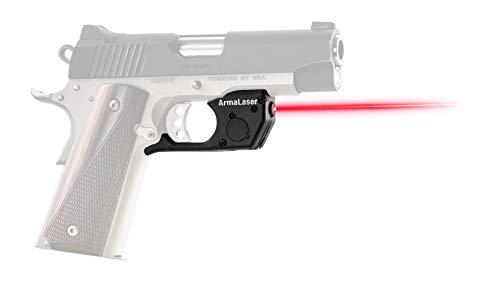 ArmaLaser TR25 Designed for Kimber 1911 Ultra Bright Red Laser Sight Grip Activation