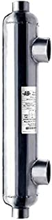 AB 55 K BTU Pool Heat Exchanger, Stainless Steel 316L Same Side Ports 1