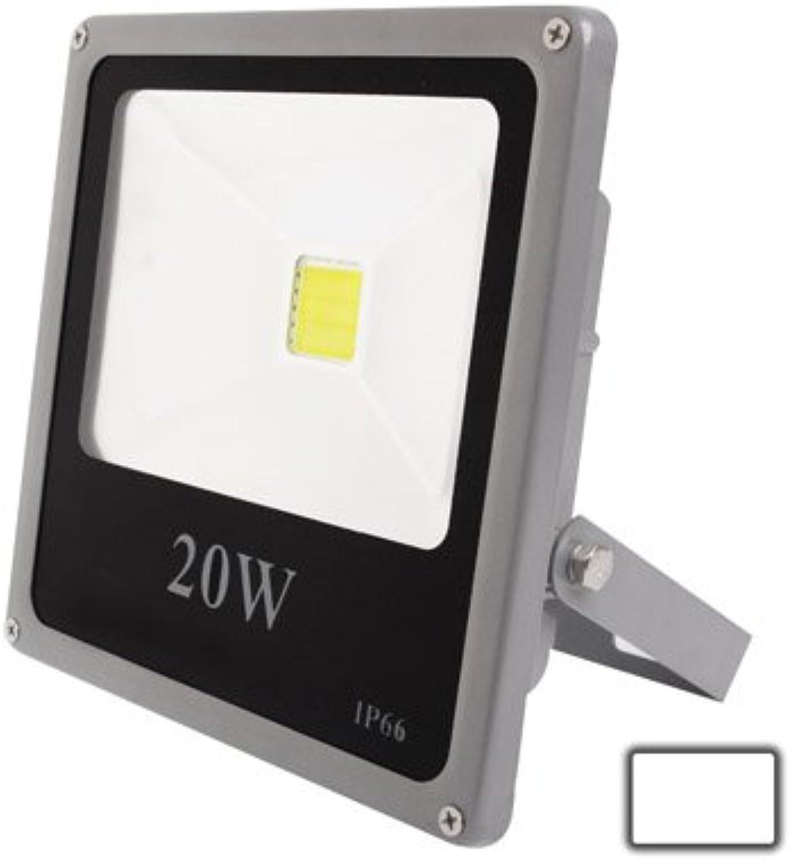 LED Light CELINEZL 20W Wasserdichtes Hochleistungsflutlicht, Weilicht-LED-Lampe, AC 85-265V, Lichtstrom  1800lm (Farbe   Farbe1)
