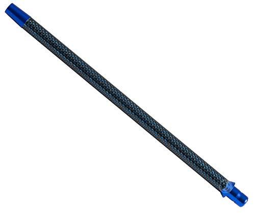 Kaya Shisha Elox Carbon Mundstück Schwarz Blau für Wasserpfeifen Silikonschlauch