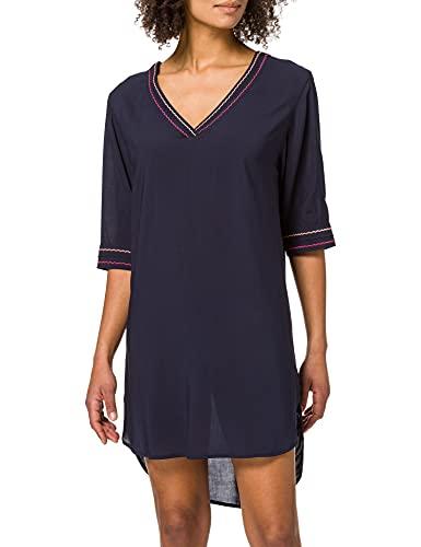 ESPRIT Bodywear Damen 041EF1A370 Überwurf für Schwimmbekleidung, 401/NAVY 2, M