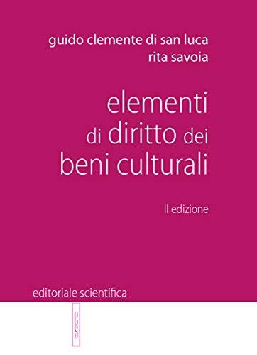 Elementi di diritto dei beni culturali