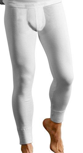 Classic Couche De Base Hommes Thermique Chaude Caleçon Long Sous-vêtement Vêtements De Ski - Cotton, Blanc, classic 50% coton 50% polyester 50% coton
