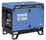 Groupe électrogène triphasé insonorisé diesel 6,5 kVA SDMO