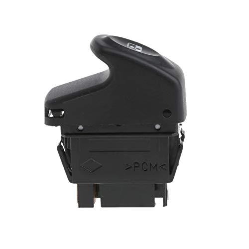 SUJIE Interruptor de la Ventana Kit de Coche Interruptor de Control de Ventana eléctrico Compatible con Renault Clio II 2 Megane I Kangoo 6 Pines 12V Auto Interior Interruptores Reemplazo