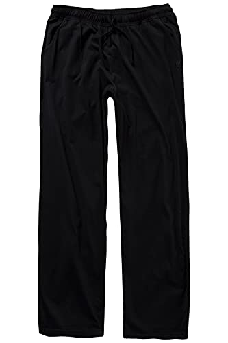 JP 1880 Schlafanzughose Kurz Pantalone del Pigiama, Nero, XXXXXL Uomo