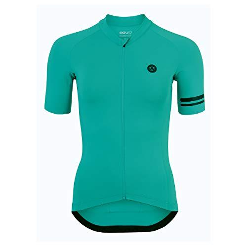 AGU Solid Fietsshirt Trend Dames - Groen - XS