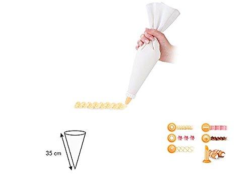 L.Delicia Lot de 6 sacs de douche 35 cm