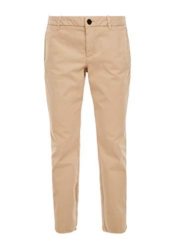 s.Oliver RED LABEL Damen Slim Fit: Slim Ankle Leg-Chino beige 38