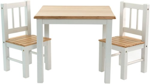 IB-Style - Meubles Enfants NOA | 3 Combinaisons |Set: 1 Table et 2 chaises Enfant - Chambre Enfant Meuble Enfant Mobilier Chaise d'enfant Baby