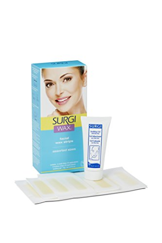 Surgi-Wax Facial Wax Strips Review