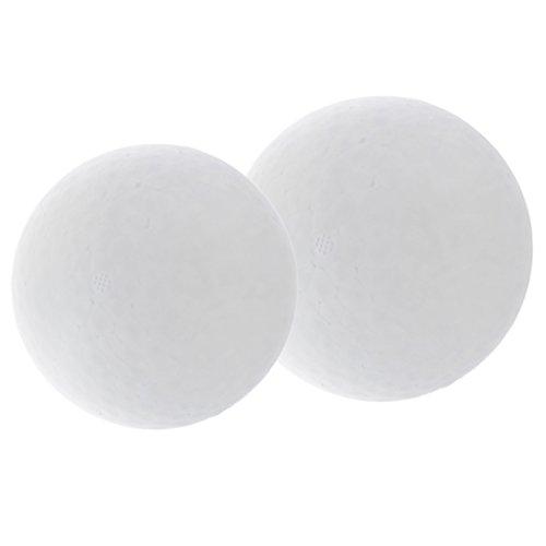 Dailymall Bolas redondas de poliestireno de espuma lisa de 150 mm, 200 mm, para manualidades y manualidades, arreglos florales, decoración de bodas, fiestas de centro de mesa (2 unidades)