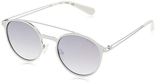 Guess Sunglasses Gu6921 21B 53 Gafas de sol, Blanco (Weiß), Unisex Adulto