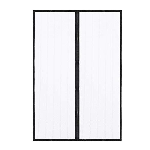 Sommerhaushalt Anti-Mücken- und Fliegenvorhang Magnetnetz automatisch schließender Bildschirm Fenster Küchenvorhang schwarzer Maschentürvorhang A2 B120xH210