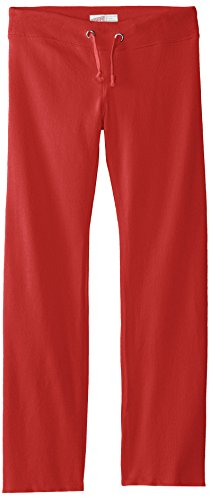 Soffe Girls' Big Rugby Pant, Red, Small