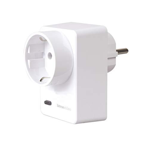 Bitron Home AV2010/25 ZigBee Smart Plug mit Verbrauchsdatenerfassung 16A Zwischenstecker, 230 V