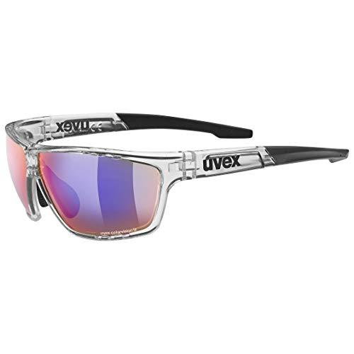 uvex Sportstyle 706 CV Gafas de Deporte, Unisex-Adult, Clear/Green, One Size