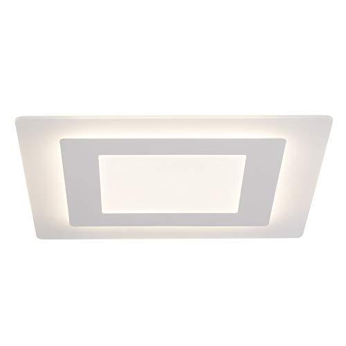 AEG lamp Xenos LED plafondlamp 48x48cm wit |1x 45W LED geïntegreerd (SMD-chip), (4500lm, 3000K) |Schaal A ++ tot E |Traploos dimbaar via wanddimmer