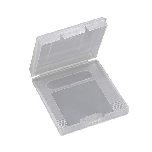 Gtide Caso plástico del Cartucho de Juegos GBC Cubierta para Game Boy Color de GBC (10 Piezas)