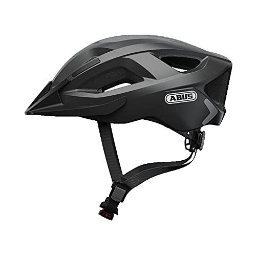 Abus Unisex-Erwachsene ADURO 2.0 Fahrradhelm, Velvet Black, L
