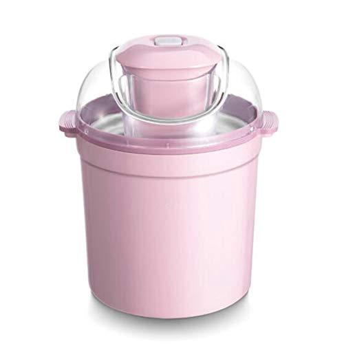 Küchenminis 2In1 Eismaschine,Ice Maker Für Frozen Joghurt Sorbet Und Eiscreme Gefrierbehälter 800 Ml Frozen Joghurtmaschine Für Haushalt Büro