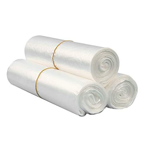 POPETPOP 100 hojas de plástico desechable jaula de conejo, jaula de conejo, película para hámster, cobayas, erizo, animales pequeños, tamaño L