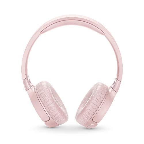 JBL TUNE 600BTNC - Noise Cancelling On-Ear Wireless Bluetooth Headphone - Pink