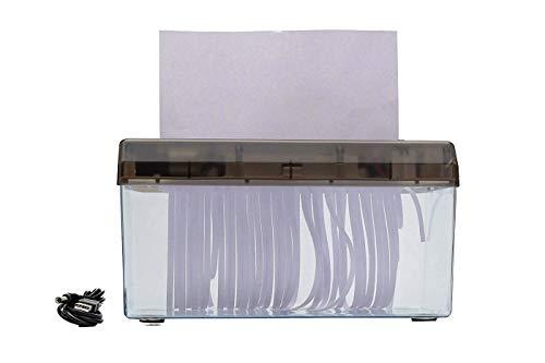 TEMPO DI SALDI Distruggi Documenti Elettrico Trita Carta A4 A Strisce Con Presa USB O Batterie