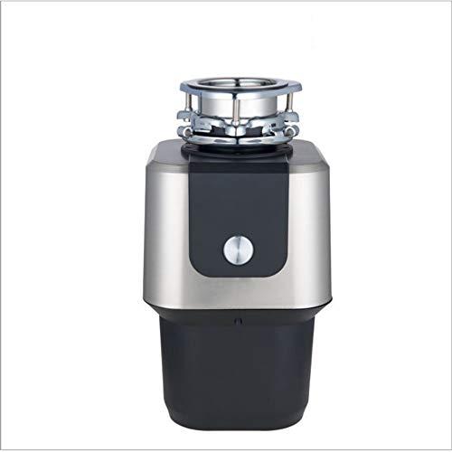 KJRJLJ Élimination des déchets, 3/4 HP alimentation continue, évier de cuisine Garbage éliminateur, silencieux, commutateur sans fil