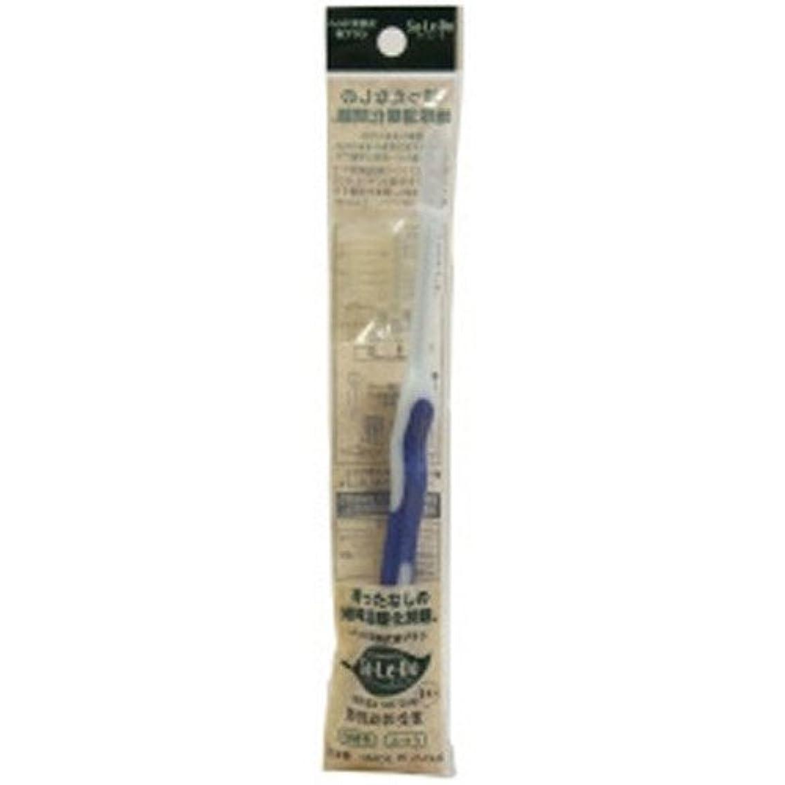 高さ顕著心のこもったサレド ヘッド交換式歯ブラシ お試しセット レギュラーヘッド ブルー