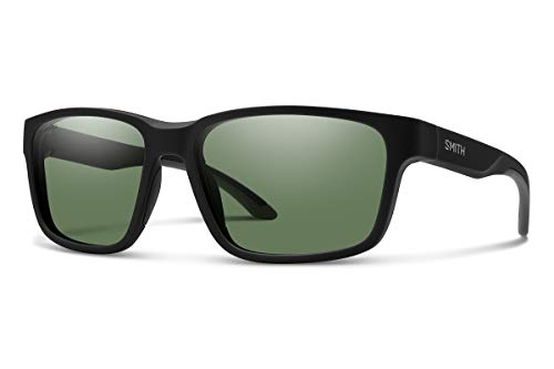 Smith Optics Herren Basecamp Sonnenbrille, Mehrfarbig (Mtt Black), 58