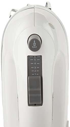 Oster FPSTHMCN1W-33A 6 Speed Hand Mixer, White