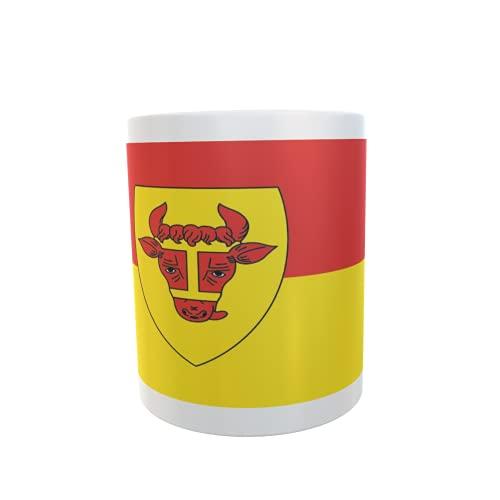 U24 Tasse Kaffeebecher Mug Cup Flagge Coesfeld