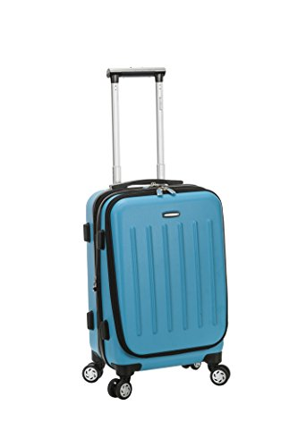 Rockland Titan Hardside Carry-On Spinner Luggage, Turquoise, 19-Inch