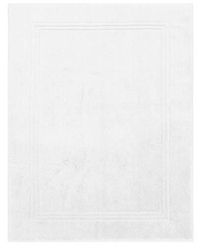 Betz Tapis de Bain XL Taille 60x97 cm 100% Coton qualité 950g/m² Gold Couleur Blanc