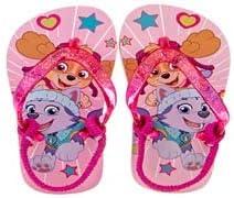 Girls Paw Patrol Flip Flop Fashion Sandals with Elastic Back Strap Toddler/Little Kid Pink