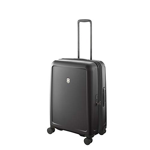 Victorinox Connex Hardside Spinner Luggage, Black, Checked-Medium (26')