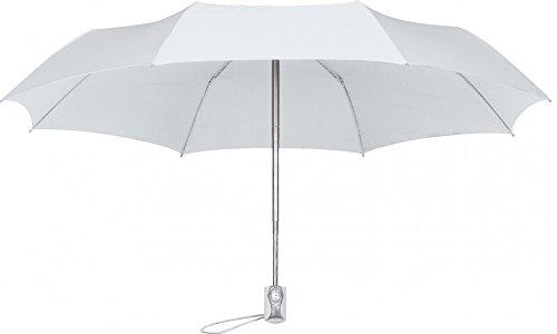 miniMAX, Open&Close Paraplu glasvezel - wit