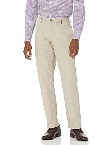 Amazon Essentials Hombre Pantalón chino sin pinzas antiarrugas de ajuste entallado