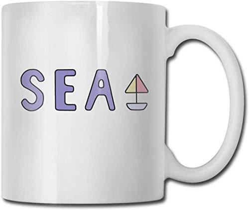 Erz Monogatari & acirc; & euro ;? Sea Shirt Home Keramik Teetasse Büro White Coffee Mug 11 Unzen